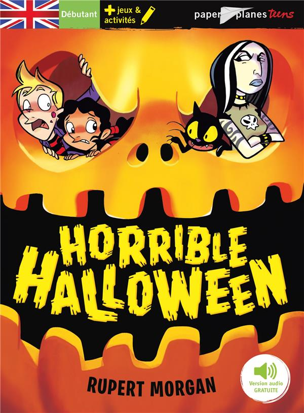 HORRIBLE HALLOWEEN - LIVRE + MP3  DIDIER
